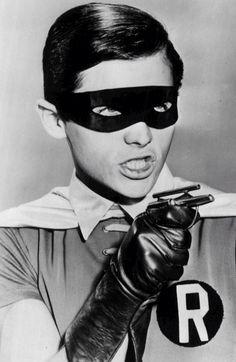 Batman: Burt Ward starring as Robin Batman 1966, Im Batman, Batman Robin, Batman Tv Show, Batman Tv Series, Radios, James Gordon, Dc Comics, Superhero Bathroom
