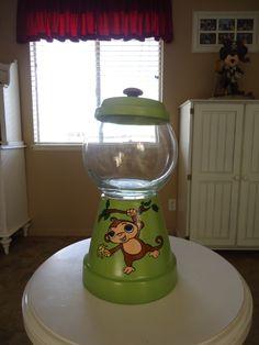 Monkey Candy Jar