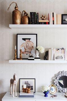 open shelves decor ideas