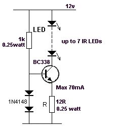 the same time, some of the energy is passed to the inductor so that the LEDs are not damaged. When the transistor is turned off, the energy from the inductor also gives a pulse of energy to Basic Electronic Circuits, Electronic Circuit Projects, Electronic Schematics, Electrical Projects, Electronic Engineering, Electrical Engineering, Simple Electronics, Electronics Basics, Electronics Components
