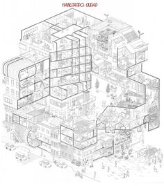 36 best ARCH·axonometric images on Pinterest in 2018