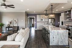 Richmond Elevation - Custom - craftsman - Kitchen - Other Metro - Jagoe Homes Inc