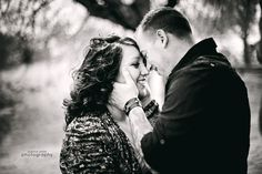 Black and White photo. Engagement session. Couples photography by Joanna Smith, Chicago area photographer http://www.joannasmithphotography.com #love #couples #engagements