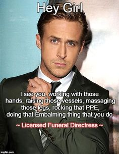 ~ Licensed Funeral Directress ~