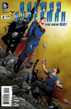 Batman/Superman #2 - Doubletime released by DC Comics on September 2013.