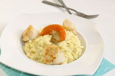 Risotto St Jacques1