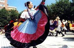 vestimentas típicas de las mujeres argentinas y gauchas.