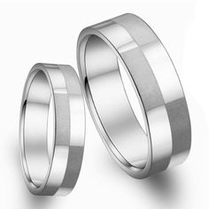 k-mega-jewelry-stainless-steel-matted-finish-silver-colour-mens-women-ring-set_3574779.jpg (500×500)