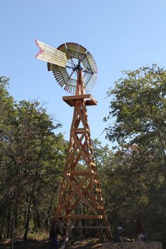 Eclipse Wooden Windmill in Parker County Texas - See more at: http://chambersarchitects.com/cutting-horse-ranch-in-parker-county.html#sthash.pat0LhgQ.dpuf And see all of our custom ranch homes at: http://chambersarchitects.com/ranches/custom-ranch-home.html