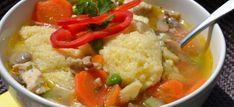 8 mennyei raguleves, amit imádni fogsz! - Receptneked.hu - Kipróbált receptek képekkel Okra, Thai Red Curry, Risotto, Ethnic Recipes, Soups, Gumbo, Soup