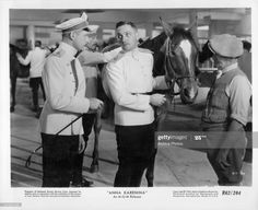News Photo : Unknown actor and Fredric March in uniform in a... Fredric March, Anna Karenina, Ms Gs, Still Image, Presentation, Scene, Actors, Film, News