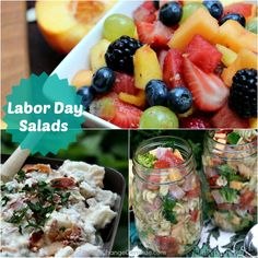 Labor Day Salads on PocketChangeGourmet.com