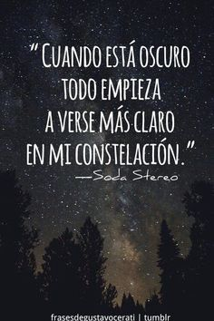 47 Grandes Frases que dejó Gustavo Cerati, ¡Gracias Totales! - Taringa! Song Quotes, Music Quotes, Best Quotes, Life Quotes, Cool Words, Wise Words, Soda Stereo, Rock Songs, Typography Quotes