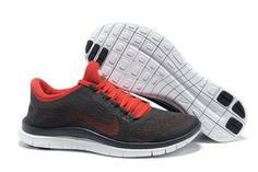 outlet store a99ed 65718 Nike Free 3.0 V5 Homme Soldes Sombre Gris Rouge-20 Teen Fashion, Fashion  Trends