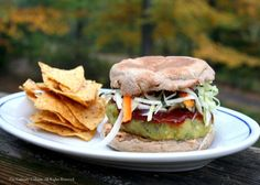 Split Pea Burger