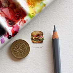 Postcards for Ants: A 365-Day Miniature Painting Project by Lorraine Loots