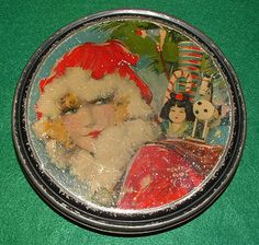 Vintage 1920's Henry Clive Beautebox Canco Christmas Tin | eBay