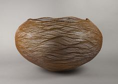 Ocean, by Morigami Jin (Japanese, born 1955); 2009; Japan; Basketry, bamboo (madake) and rattan (© Morigami Jin)