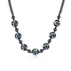 >> Click to Buy << Natural Stone Necklace Crystal Iron Stone Inlaid Green Aventurine Gem Stone Chains Necklace& Pendants Vintage Jewelry Femme Gift #Affiliate