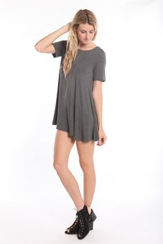 Our Best selling swing dress is now available in short sleeves! WWW.SHOPPUBLIK.COM