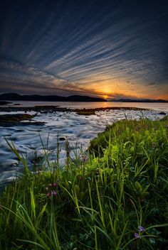Summer sunset, Ketchikan, Alaska