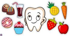 Happy and Sad Tooth Preschool Dental Health Free Printables