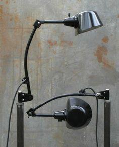 Curt Fischer, ca. 1930-1950 Midgard, Scissor Lamp