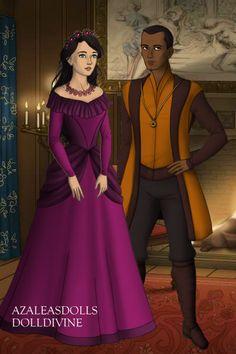 Silena and Charles By Morgan D Jackson