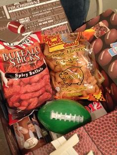 Football season care package