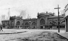 1929 - Mercado Municipal na rua da Cantareira.