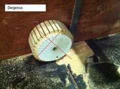 Juguetes de madera de la rueda haciendo # 4: El neumático - por Dutchy…