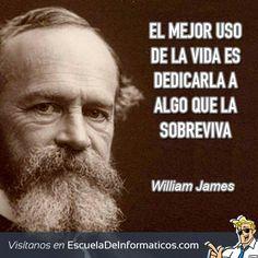 William James #motivación #tecnología