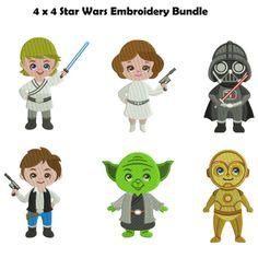 Star Wars machine Embroidery Design