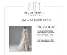A little review about #peterlangner new Veil Collection taken from Blush Bridal Sarasota. http://www.blushsarasota.com/peter-langner.html