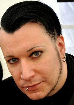 Those eyes....(^з^)-☆  Chris from Blutengel