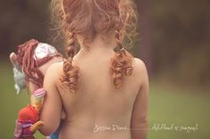 beautiful. red. timeless. #childphotography
