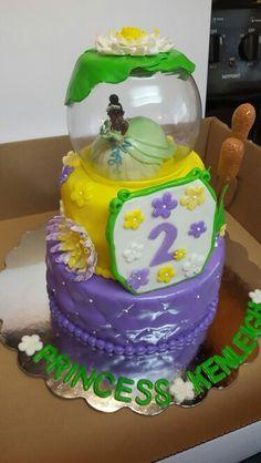 Princess Tianna birthday cake