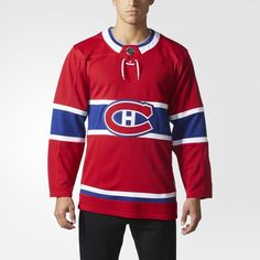 8fce58133 adidas Canadiens Home Authentic Pro Jersey - Mens Hockey Jerseys Men s  Hockey