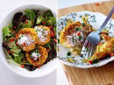 Acompáñalas con hojas verdes, con vegetales salteados o cómelas con pan como si fueran hamburguesas.