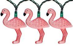 Flamingo party lights.