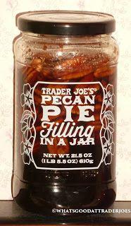 Trader Joe's Pecan Pie Filling in a Jar reviewed!