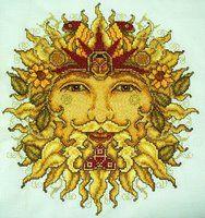 Sun God Cross-Stitch by HaleyGeorge