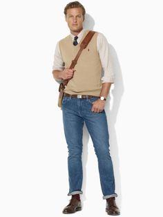 Slim-Fit Straight Jean - Polo Ralph Lauren Slim - RalphLauren.com