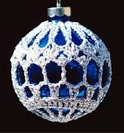 Image result for christmas crochet cover ornaments