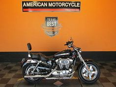 eBay: Harley-Davidson Sportster 1200 2014 Harley-Davidson Sportster 1200 Custom - XL1200C Set up for two up riding. #harleydavidson