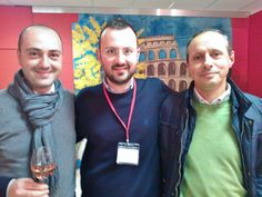 An Apulian winery, Colli della Murgia,  in Ireland to promote its wines with the FIBI :)