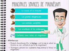 Sources alimentaires de magnésium Nutrition And Dietetics, Diet And Nutrition, Magnesium, Gifts For Photographers, Important Facts, Square Photos, Flash Photography, 100 Calories, Photo Checks