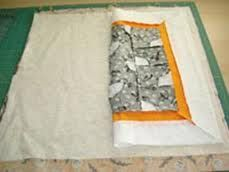 spray baste quilt  - scroll down to see home demonstration video