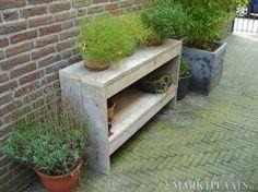 Marktplaats.nl > Sidetable van steigerhout