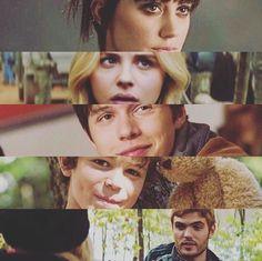 Marika (Ringer), Cassie (Mayfly), Ben (Zombie), Sam (Nugget), Evan (Silencer)
